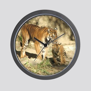 Helaine's Tigers Wall Clock