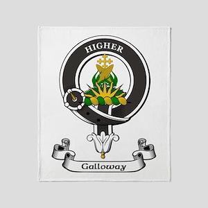 Badge - Galloway Throw Blanket