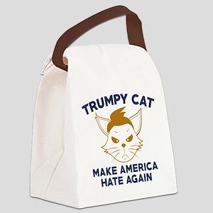 Trumpy Cat Canvas Lunch Bag