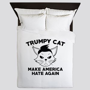 Trumpy Cat Queen Duvet