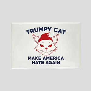 Trumpy Cat Rectangle Magnet