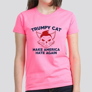 Trumpy Cat Women's Dark T-Shirt