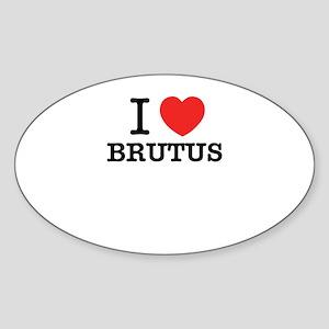 I Love BRUTUS Sticker