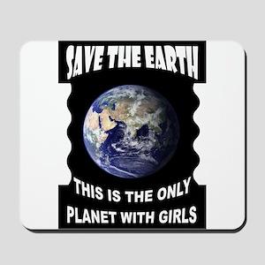 SAVE EARTH Mousepad