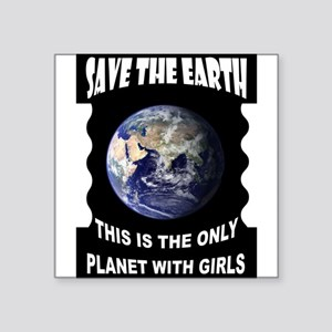 SAVE EARTH Sticker