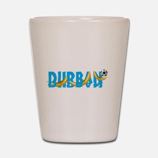Durban Football Shot Glass