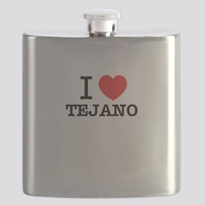 I Love TEJANO Flask