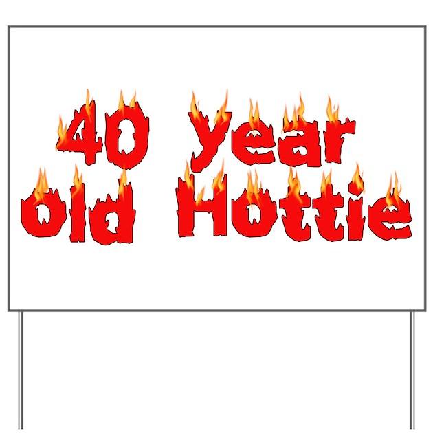 40th Birthday Yard Sign By Myholidaystore