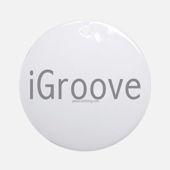 iGroove Ornament (Round)
