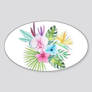 Watercolor Tropical Bouquet 3 Sticker