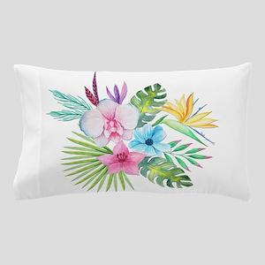 Watercolor Tropical Bouquet 3 Pillow Case