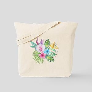 Watercolor Tropical Bouquet 3 Tote Bag