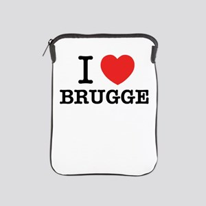 I Love BRUGGE iPad Sleeve