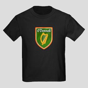 ODonnell Family Crest Kids Dark T-Shirt