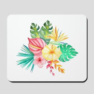 Watercolor Tropical Bouquet 6 Mousepad
