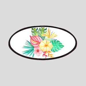 Watercolor Tropical Bouquet 6 Patch