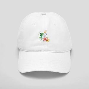 Tropical Cockatoo Baseball Cap