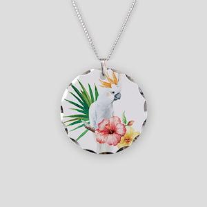 Tropical Cockatoo Necklace