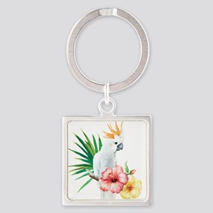 Tropical Cockatoo Keychains