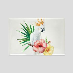 Tropical Cockatoo Magnets