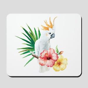 Tropical Cockatoo Mousepad