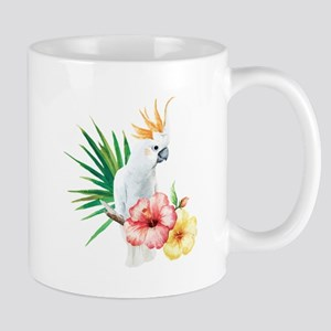 Tropical Cockatoo Mugs