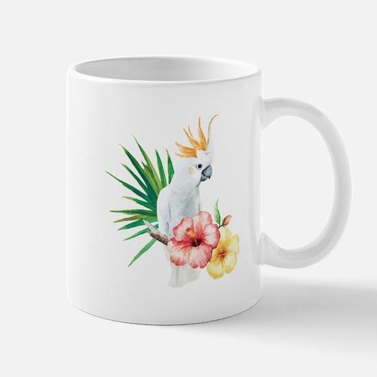 Tropical Cockatoo Mugs