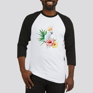 Tropical Cockatoo Baseball Jersey