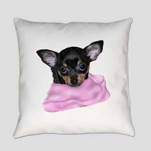 Chihuahua Puppy Portrait Everyday Pillow