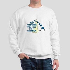 New Hampshire Bag Toss State Sweatshirt