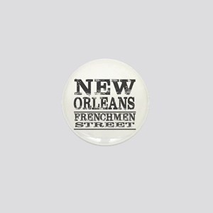 NEW ORLEANS FRENCHMEN STREET Mini Button