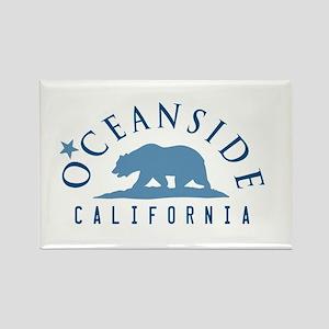 Oceanside - California. Rectangle Magnet Magnets