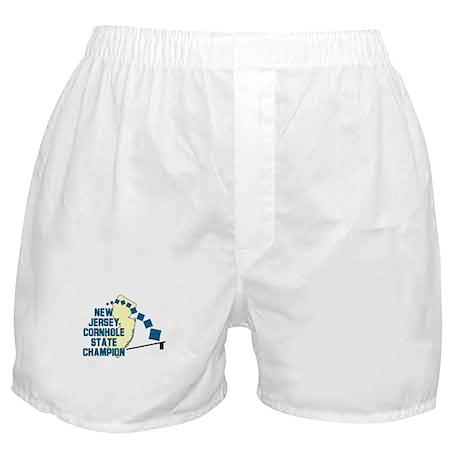 New Jersey Cornhole State Cha Boxer Shorts