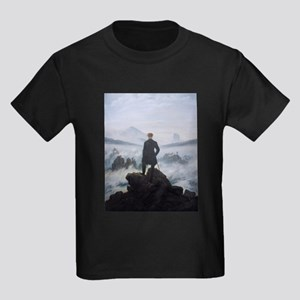 Wanderer above the Sea of Fog - Caspar Dav T-Shirt