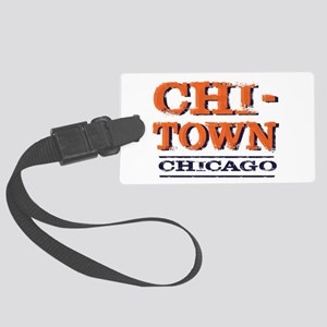 CHICAGO CHI TOWN Large Luggage Tag