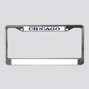 CHICAGO CHI TOWN License Plate Frame