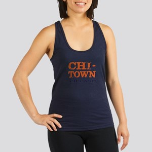CHICAGO CHI TOWN Racerback Tank Top