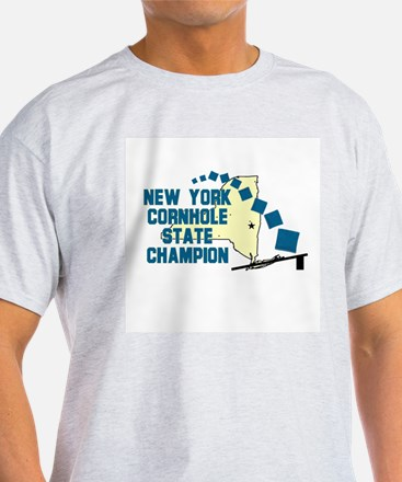 New York Cornhole State Champ T-Shirt