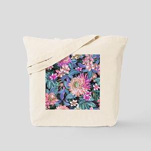 Exotic Floral Tote Bag
