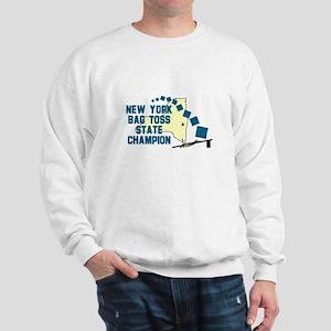 New York Bag Toss State Champ Sweatshirt