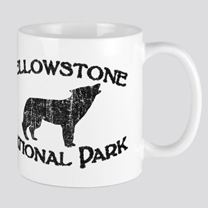 Yellowstone Wolf Mugs