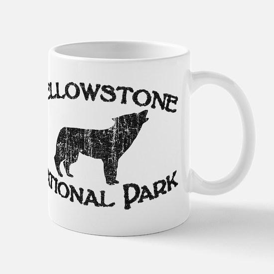 Yellowstone Wolf Mugs