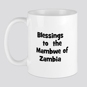 Blessings  to  the  Mambwe of Mug