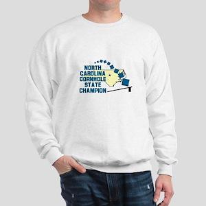 North Carolina Cornhole State Sweatshirt