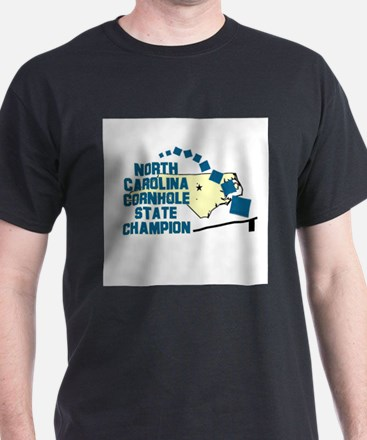 North Carolina Cornhole State T-Shirt