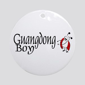 Guangdong Boy Ornament (Round)
