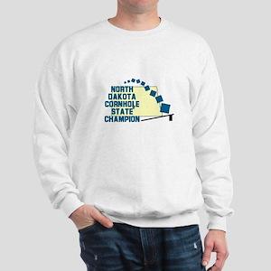 North Dakota Cornhole State C Sweatshirt