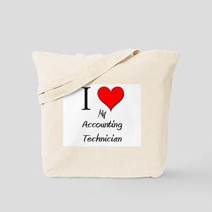 I Love My Accounting Technician Tote Bag