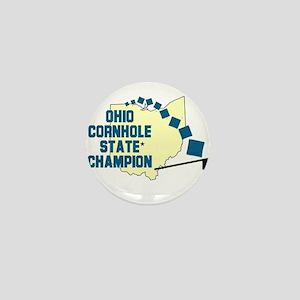 Ohio Cornhole State Champion Mini Button