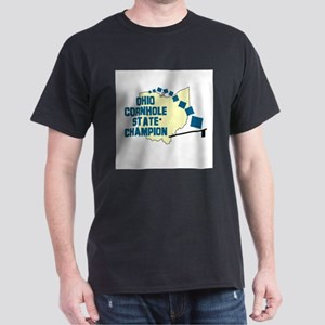 Ohio Cornhole State Champion Dark T-Shirt